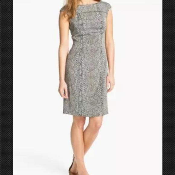 Tory Burch Dresses & Skirts - Tory Burch Carter Print Sheath Dress mint brown